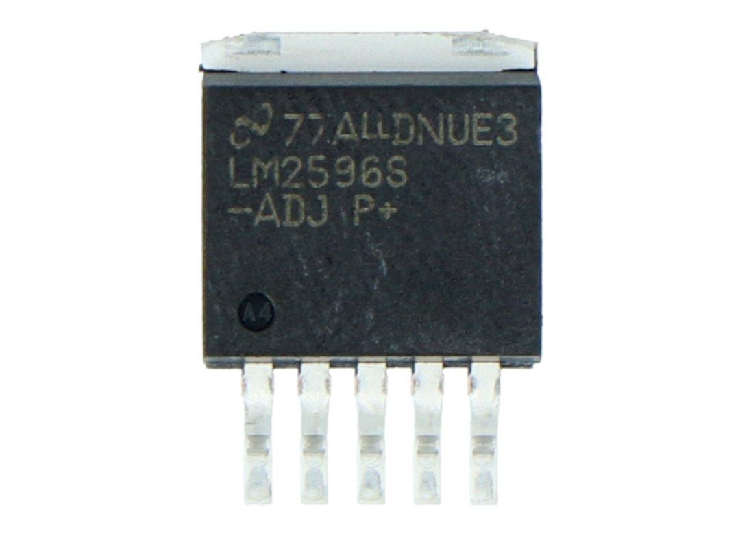 Převaděč LM2596S-ADJ