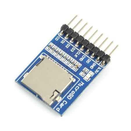 Modul čtečky karet microSD