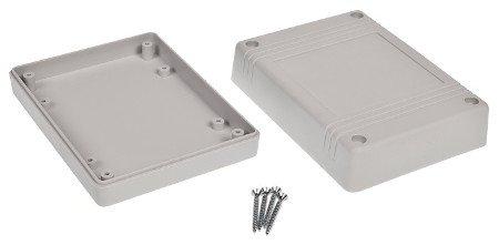 Plastové pouzdro Kradex Z80J IP54 - světlo 120x90x38mm