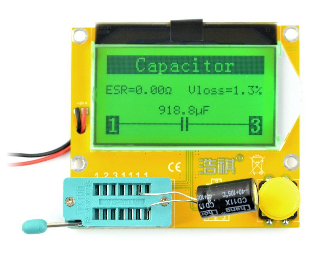 Testovací sada, tester elektronických součástek THT - BTE-056