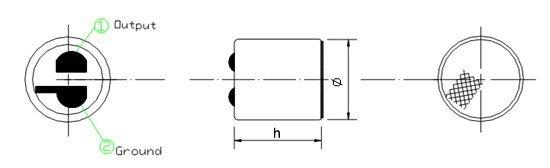 Mikrofon - pinový diagram